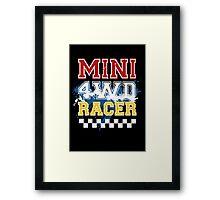 Mini 4WD Racer Framed Print
