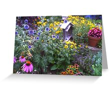 Many colors Greeting Card