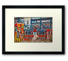 Sunny Day.  Comerica Park.  Perfect. Framed Print