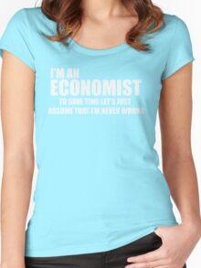 I'Am AN Economist Women's Fitted Scoop T-Shirt