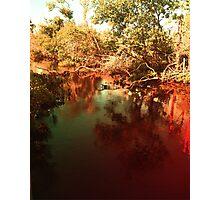 Autumn Mirror Photographic Print