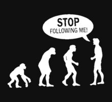 Banksy Funny Human Evolution Indie Stencil T-Shirt