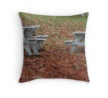 The Last Picnic Throw Pillow