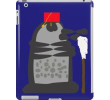 dalek fez and mop iPad Case/Skin