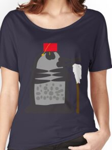 dalek fez and mop Women's Relaxed Fit T-Shirt