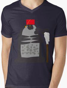 dalek fez and mop Mens V-Neck T-Shirt