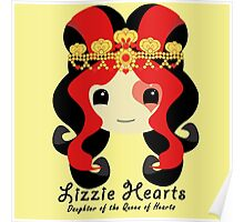 Ever After High Lizzie Hearts Poster