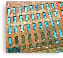 SIOUX CITY GLYPHS Canvas Print