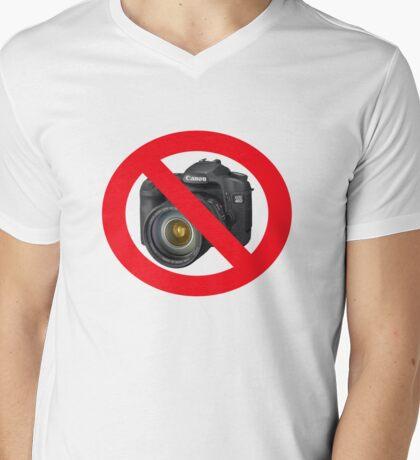 no photographs Mens V-Neck T-Shirt