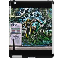 Urban jungle- street art in Camden iPad Case/Skin