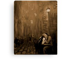 Melody of one night Canvas Print