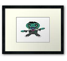 Zombie Doll  Framed Print