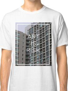 Troye Sivan Art is Risk Classic T-Shirt