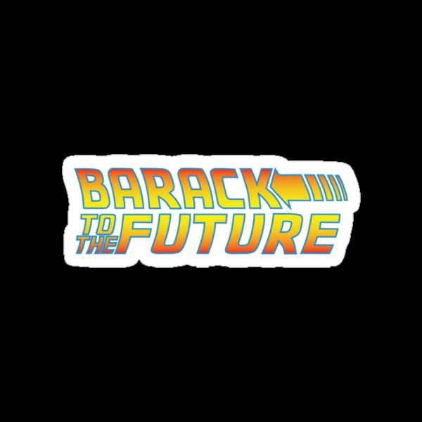 Barack to the Future by stuartm65