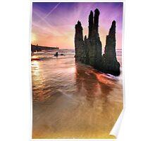 Walberswick Beach Suffolk 2. Poster