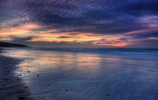 Painted Sky over Inverness Beach by EvaMcDermott