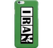 Iraq - Iran iPhone Case/Skin