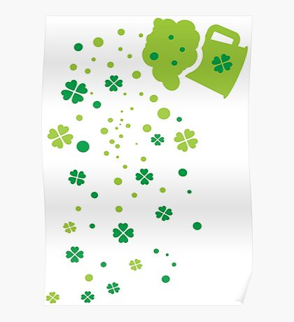 Green Beer st.Patrick's day Poster