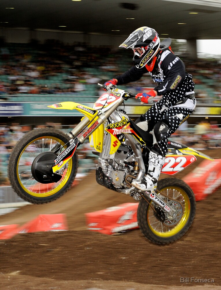 Chad Reed #22 by Bill Fonseca