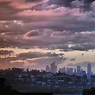 Spring sunset from Dover Heights by andreisky