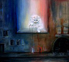 Cat's games by Alla Pierce