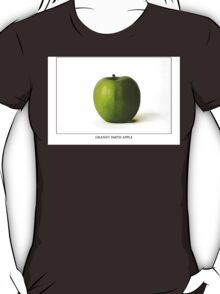 Granny Smith Apple Labeled T-Shirt