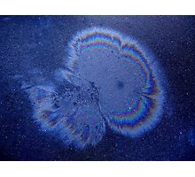 Galaxy Or Oil Spill? (Ryde, Australia 2012) Photographic Print
