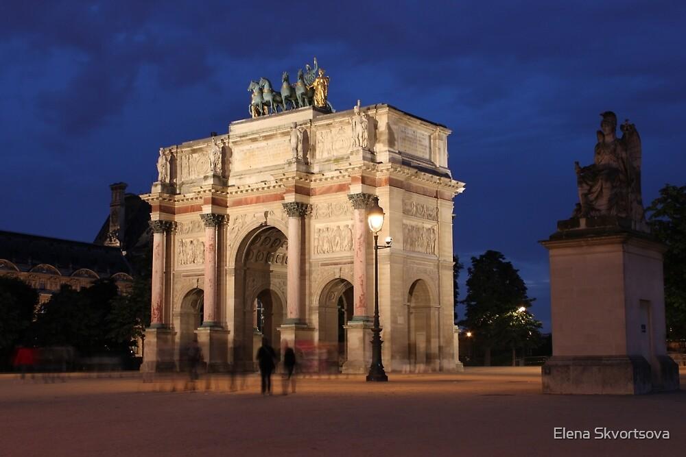 Arc de Triomphe du Carrousel by Elena Skvortsova