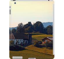 Beautiful farmland scenery | landscape photography iPad Case/Skin