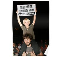 Marriage Equality Now Poster