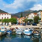 Town Marina by Anton Gorlin