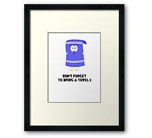 Towelie Framed Print
