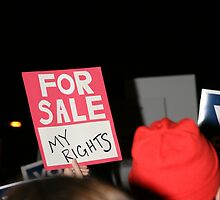 """FOR SALE - """"MY RIGHTS"""" by abfabphoto"""