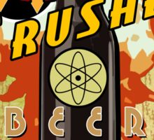 Atom Crusher Beer Sticker