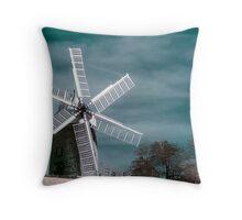 Infra-red Windmill Throw Pillow