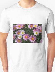 pink daisy Unisex T-Shirt