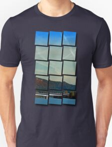 Bridge, scenery and some clouds | architectural photography Unisex T-Shirt