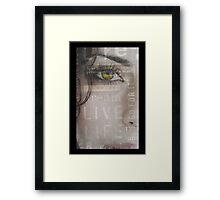I.N.S.P.I.R.E Framed Print