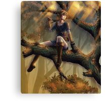 Zelda Wii U Canvas Print