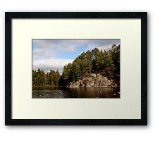 In algonquin park 1 Framed Print