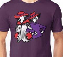 red hat ladies Unisex T-Shirt