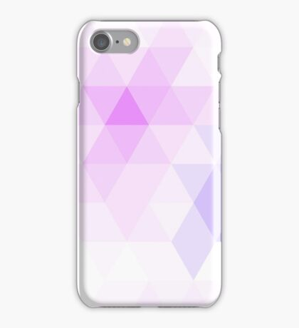 Warm winter triangle pattern iPhone Case/Skin