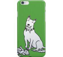 The Helpful Bull Terrier iPhone Case/Skin
