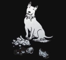 The Helpful Bull Terrier One Piece - Short Sleeve