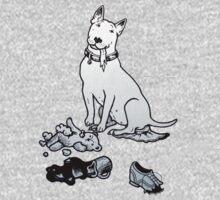 The Helpful Bull Terrier Kids Tee