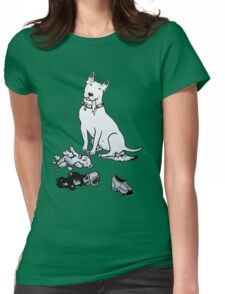 The Helpful Bull Terrier Womens Fitted T-Shirt