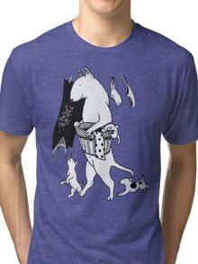 Bull Terrier Laundry Tri-blend T-Shirt