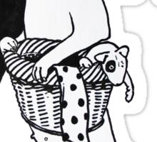 Bull Terrier Laundry Sticker