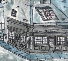 Fleet Street Sketch 3 Sticker