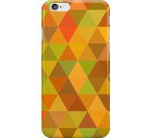 Autumn triangle pattern iPhone Case/Skin